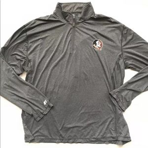 Russell Washington Redskins 1/2 zip shirt new